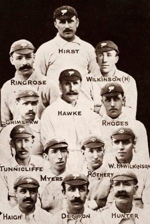 memory lane: 1905 Yorkshire County Cricket Team