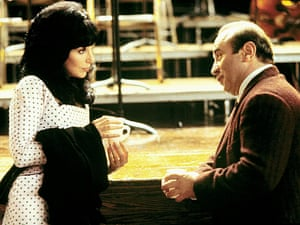 Cher and Bob Hoskins in Mermaids, 1990.