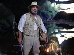 Bob Hoskins in a BB adaptation of Arthur Conan Doyle's The Lost World in 2005.