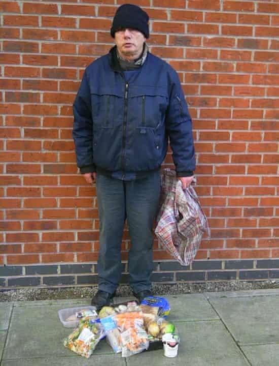 Preston - Patrick the bin dipper