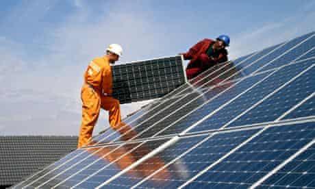 solar panels for skanska