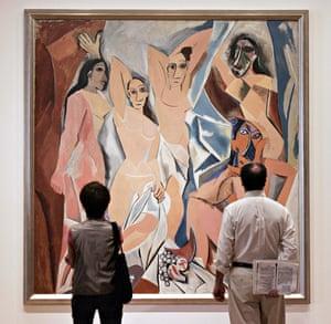 Picasso's Les Demoiselles d'Avignon (1907)