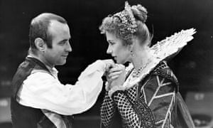 Bob Hoskins and Helen Mirren in The Duchess of Malfi