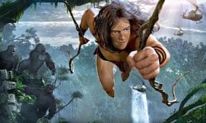 Tarzan king of the apes animation