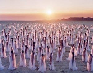 Spencer Tunick: Desert Spirits, 2013
