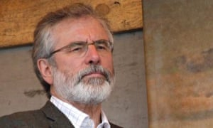 Gerry Adams detained