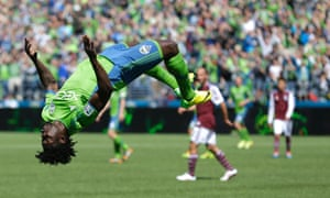 Obafemi Martins Seattle Sounders