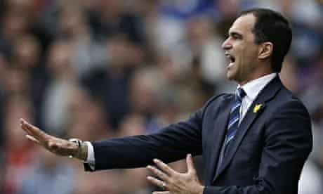 Everton's Roberto Martínez has insisted that 'with time you can achieve anything'