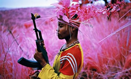 Safe From Harm, 2012, by Richard Mosse.