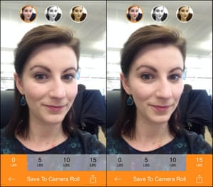 Elena Cresci tries the Skineepix app.