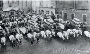 Pabst beer deliveries in 1900