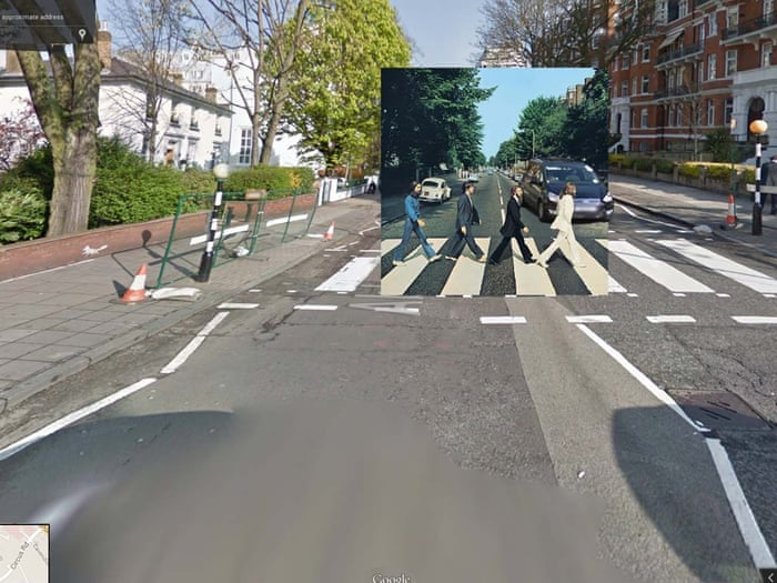 How google street view became fertile ground for artists for Abbey road salon