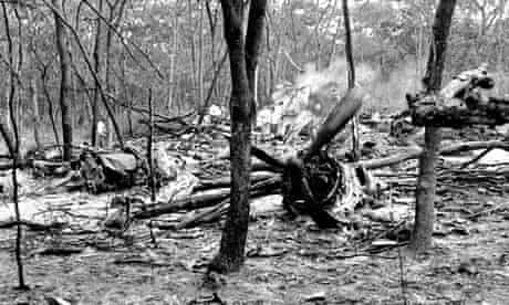 Dag Hammarskjöld plane wreckage