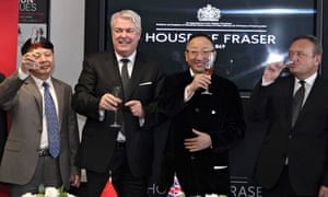 House Of Fraser deal