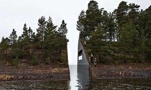 Jonas Dahlberg's design for Memory Wound in Norway