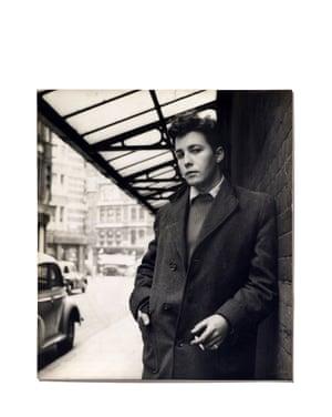 Jeffrey Bernard, Soho 1950's.