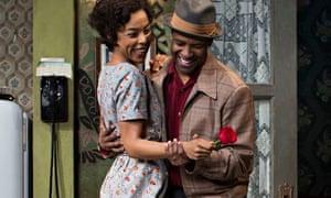 Sophie Okonedo and Denzel Washington in A Raisin in the Sun