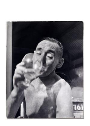 John Deakin in characteristic pose 1960's.