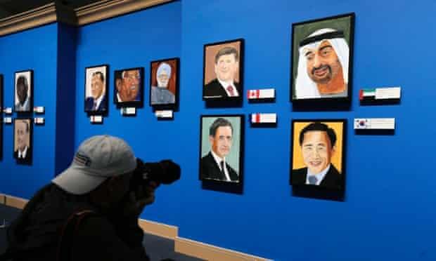 George Bush portrait paintings