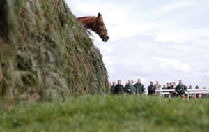 Doeslessthanme looks over The Chair during the Topham Chase