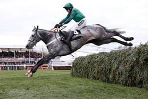 And over the last before going on to win the Topham Chase