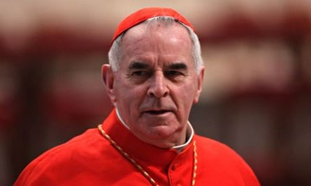 Cardinal Keith O'Brien resigned amid allegations from three priests and one former priest,