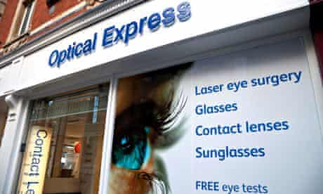 Optical Express says strict guidelines keep the complications rate in laser eye surgery very low.