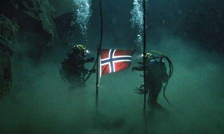 A scene from the Norwegian film Pioneer.