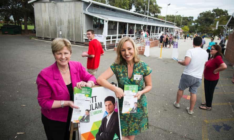 Greens senators WA senate election