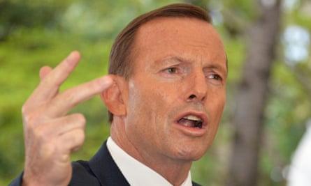 Tony Abbott in Japan