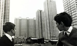 Glasgow's Red Road flats, which are to be demolished during the Commonwealth Games opening ceremony