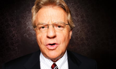 Jerry Springer told the MIPDoc conference that he doesn't watch his own show. 'I've got some taste...'