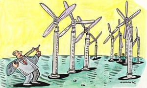 'EU support of onshore wind has caused dramatic falls in cost.'