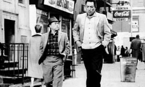 With Anthony Quinn in Requiem for a Heavyweight.