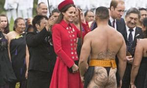 Prince William and Catherine Duchess of Cambridge visit Wellington, New Zealand - 07 Apr 2014
