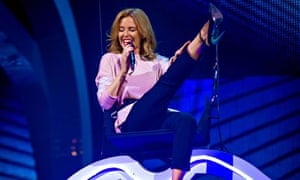 Kylie Minogue, The Voice 2014