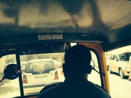 'This is what a auto driver [in New Delhi] thinks about the media in India.'
