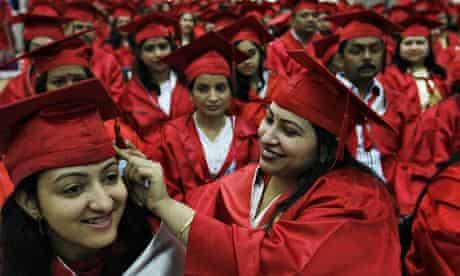 graduates in India
