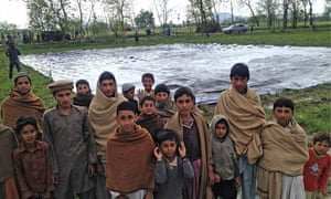 Villagers in Khyber Pakhtunkhwa