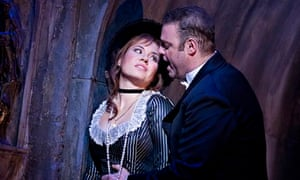 Sonya Yoncheva as Marguerite and Joseph Calleja as Faust in David McVicar's production of Faust.