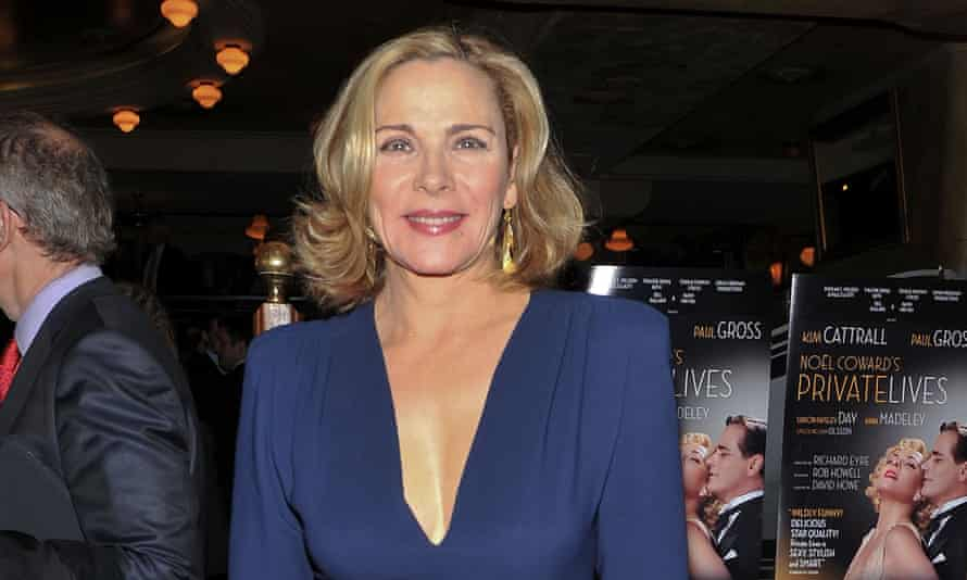 Kim Cattrall: 'Theatre almost makes it impossible to work in television, because the writing is so great'.