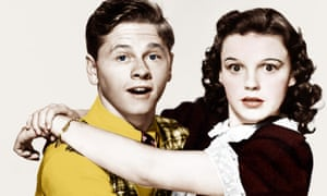Mickey Rooney and Judy Garland in Love Finds Andy Hardy, 1938.