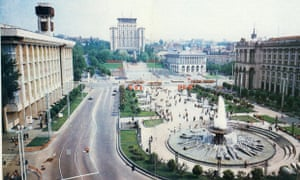 Independence Square back when it was known as October Revolution Square
