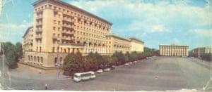 Svobody Square in the eastern Ukrainian city of Kharkiv