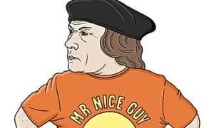 Matt Blease illo of Thomas Cromwell