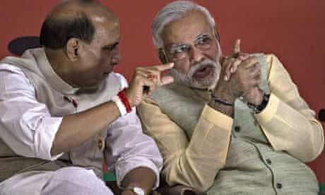 Narendra Modi and Rajnath Singh