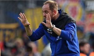 Braunschweig's coach Torsten Lieberknecht