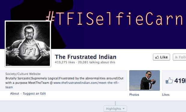 The Frustrated Indian on Facebook