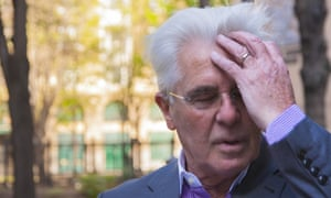 Celebrity Publicist Max Clifford arrives at Southwark Crown Court as his trial on eleven counts of indecent assault.
