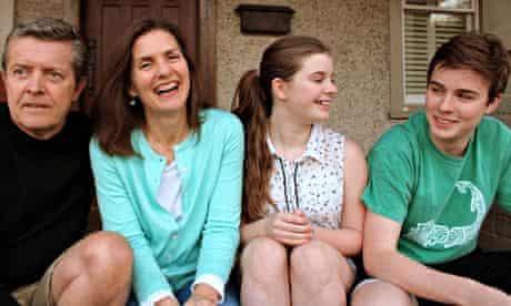 Bridget Schulte and family